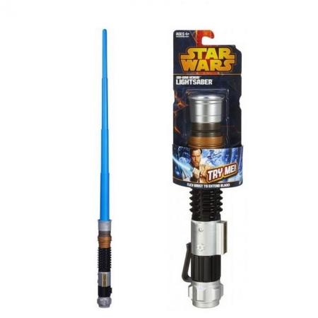 """Световой меч базовый """"Звездные войны"""" БЕЗ света и звука (в ассорт.3) Hasbro A1189"""