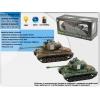 Танк р/у аккум 4101B-3/4 Snow Leopard, стреляет пульками