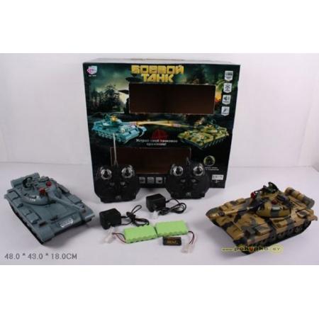 Танковый бой 9445 на радиоуправлении