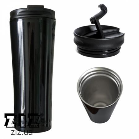 Термокружка Черная, ZIZ-21039