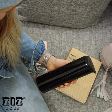 Термокружка Черный тубус, ZIZ-21040