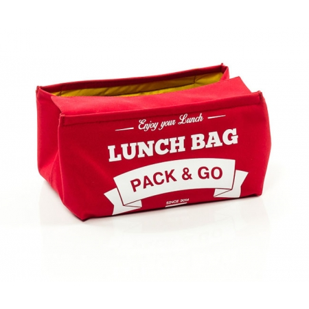 Термосумка Pack&Go (размер S, красный)