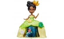 Тиана в платье с волшебной юбкой, Маленькое королевство, Disney Princess Hasbro, B8963 (B8962-2)