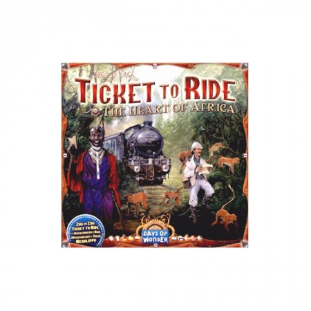 Ticket to Ride - The Heart of Africa Maps Collection