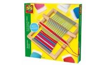 Ткацкий станок макси, набор для плетения (станок, нитки), SES, 00876S