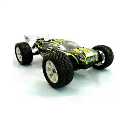 Трагги Himoto Ziege Brushless 2.4GHz с бесколлекторным двигателем (зеленый), HIM-MegaE8XTLg