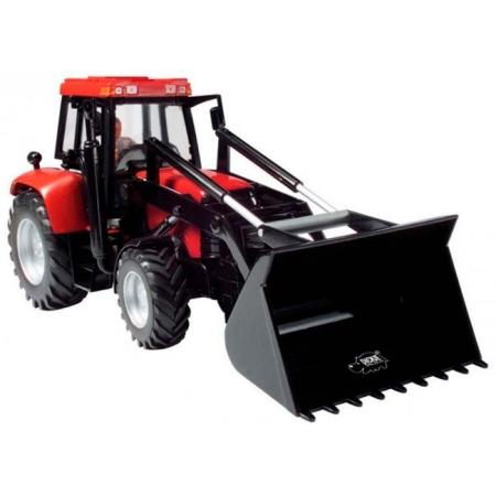 Трактор с фигуркой водителя, 25 см (красный), Dickie Toys, 373 5002-2