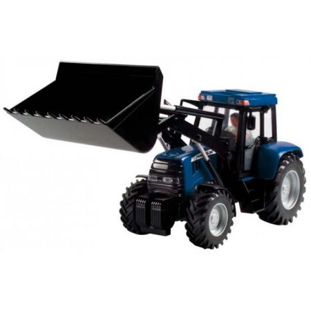 Трактор с фигуркой водителя, 25 см (синий), Dickie Toys, 373 5002-1