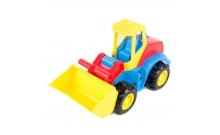 Трактор с ковшом, спецтехника, Tech Truck, Wader, 39476-2