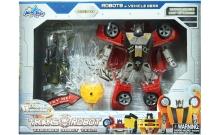 Трансформер-робот со светящимся оружием, набор 5, BoldWay, 78115-65-5