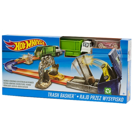Трек Trash Basher Hot Wheels, Mattel, Trash Basher, DNR74-1