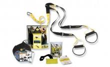 TRX Петли подвесные тренировочные KIT P1 FI-3723-02 (функцион.петли,дверное крепл, черный-желтый)