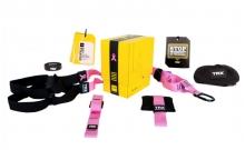 TRX Петли подвесные тренировочные PRO PACK HOME PINK P3 FI-3726-P (функц.пет, сумка, розовый)