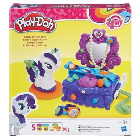 Туалетный столик Рарити (Rarity) набор с пластилином My Little Pony, Play-Doh, B3400
