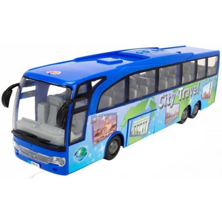 Туристический автобус Экскурсия по городу, 33 см (синий), Dickie Toys, 374 5005-2