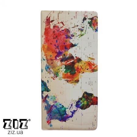 Туристический конверт органайзер Акварель карта, ZIZ-12180