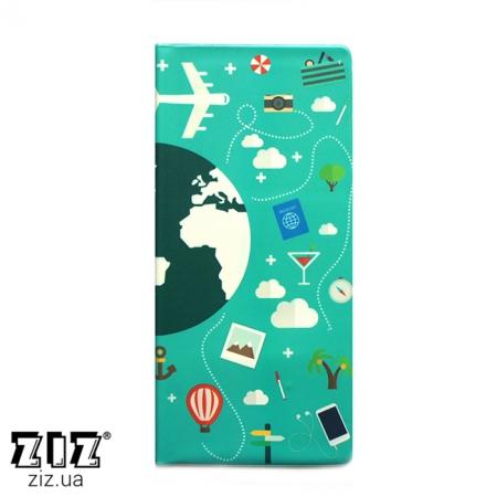 Туристический конверт органайзер Глобус, ZIZ-12182