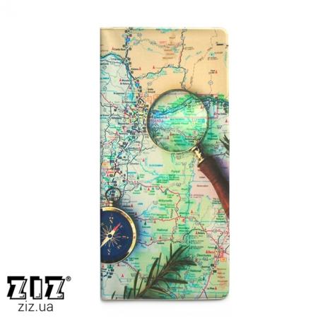Туристический конверт органайзер Карта, ZIZ-12187