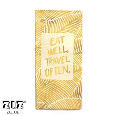 Туристический конверт органайзер Листья, ZIZ-12185