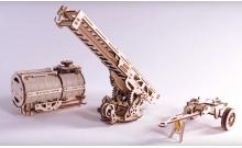 """UGears """"Дополнения для грузовика UGM-11"""" (механический деревянный конструктор)"""