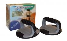 Упоры для отжиманий круглые (2шт) PS K70-3R ROUND PUSH-UP BAR (пластик, резина, ручка резина)