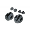 Упоры для отжиманий поворотные+диски здоровья (2шт) L-300 3-WAY PUSH-UP TWISTER (металл,пластик,рез)