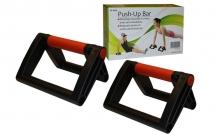 Упоры для отжиманий складные (2шт) PS FI-9920 PUSH-UP BAR (пластик, неопрен, р-р 12x23,5x15см)