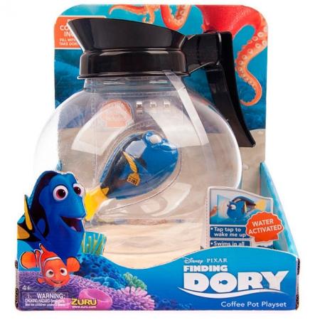 В поисках Дори. Набор с интерактивной рыбой-хирургом Dory (Дори) в кофейнике. Zuru, 25171
