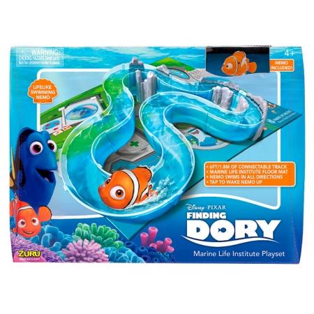 В поисках Дори. Набор с интерактивной рыбой-клоуном Nemo (Немо) на треке. Zuru, 25214