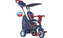 Велосипед Smart Trike Star 4 в 1 полосато-синий (6752502)