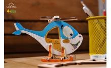 Вертолет, 3D модель-разрисовка, Ukrainian Gear, 10001