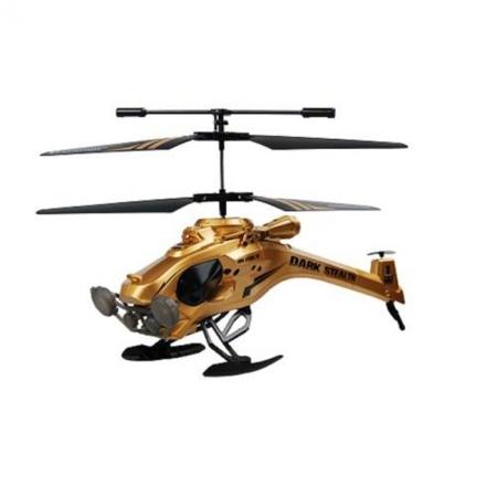 Вертолет на ИК управлении - DARK STEALTH (золотой, 22 см, 3-канальный, с гироскопом), AULDEY (YW857103)