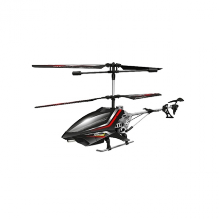 Вертолет радиоуправляемый - EXPLOITER S (черный, 40 см, 3-канальный, с гироскопом), Auldey YW858401