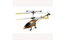 Вертолет радиоуправляемый - FOR SENIOR PLAYERS (золотистый, 40 см, с гироскопом, 3-канальный), Auldey YW857140