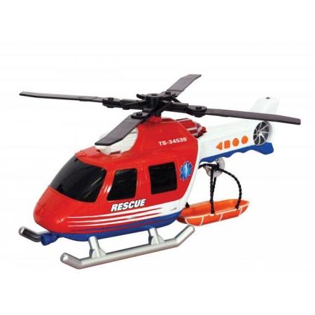 Вертолет со светом и звуком, 30см, Toy State, 34565