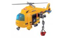 Вертолет Спасательная служба с лебедкой, 18 см, Dickie Toys, 330 2003