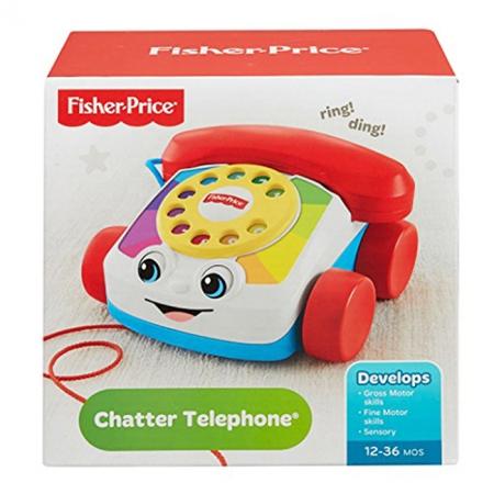 Веселый телефон - игрушка-каталка, Fisher-Price, CMY08