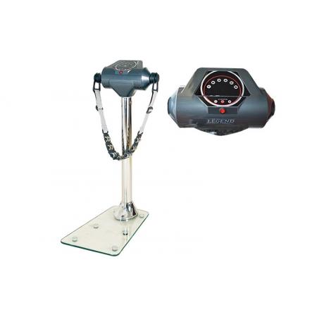 Вибромассажер LEGEND TR-3531 (металл,р-р 70x43x112см,вес польз.до 100кг,3-ремня,стекл.подошва)