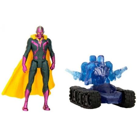 Вижен (6 cм) против дрона Альтрона, Avengers, B3421(B0423)