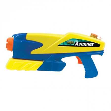 Водное оружие Avenger new, синий с желтым, BuzzBee (19300-2)