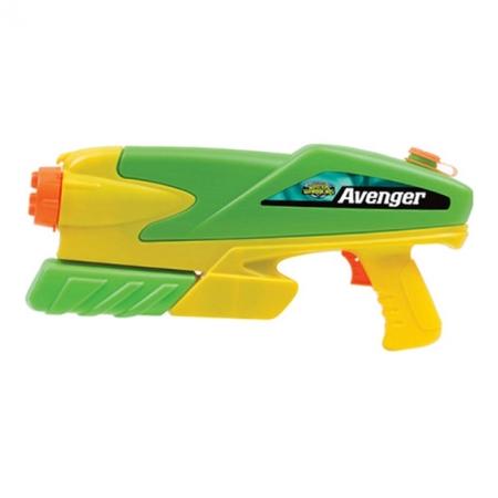 Водное оружие Avenger new, зеленый с желтым, BuzzBee (19300-1)