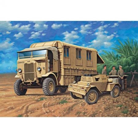 Военный автомобиль (1942г. Великобритания) Montys Caravan, 1:76, Revell (03227)