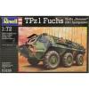 Военный автомобиль (1979г., Германия) TPz A1 Fuchs Eloka Hummel/ABC, 1:72, Revell (03139)