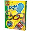 Волшебные резиночки Loom, (станок, крючoк, 600 резинок, клипсы), SES (14112S)