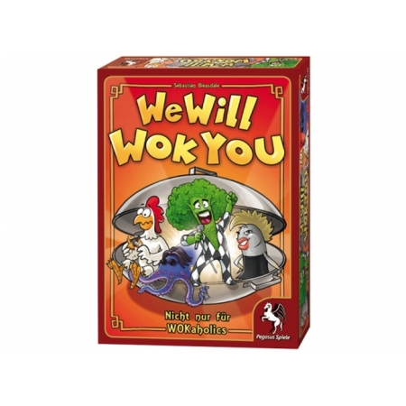 We will Wok you! - Настольная игра Pegasus Spiele