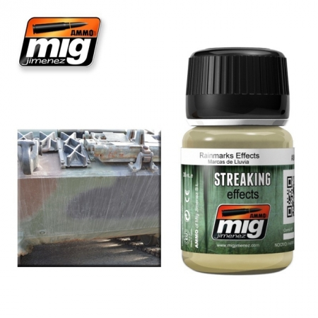 Weathering эффект Ammo A.MIG-1208 Rainmarks Effects