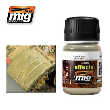 Weathering эффект Ammo A.MIG-1401 Light Dust