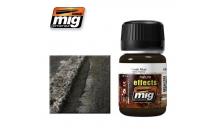 Weathering эффект Ammo A.MIG-1402 Fresh Mud
