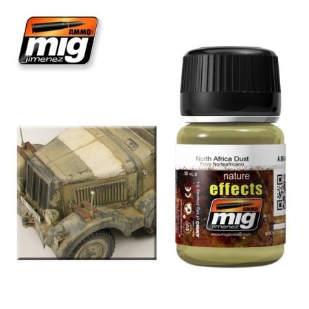 Weathering эффект Ammo A.MIG-1404 North Africa Dust
