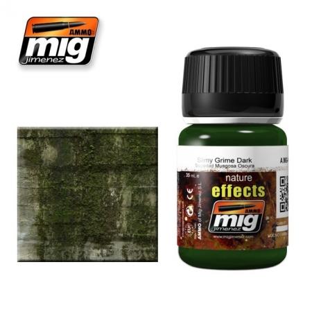 Weathering эффект Ammo A.MIG-1410 Slimy Grime Dark